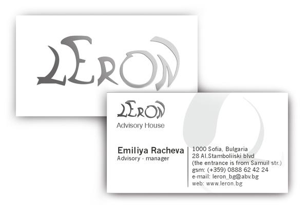 Leron Business Card