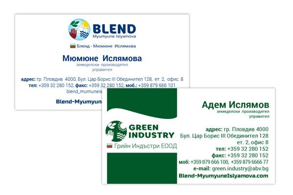 Vizitki-blend-myumyuneisliyamoval-reklamno-studio-plovdiv